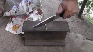 Vandis 4E knife test