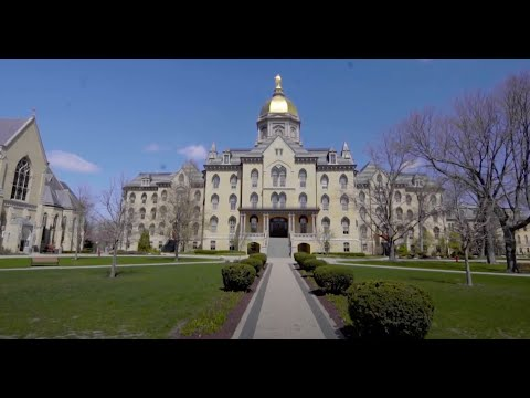 University Of Notre Dame Campus Tour Youtube