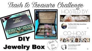 Using Trash to Treasure Challenge - Jewelry Box