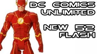 DC Comics Unlimited New 52 FLASH Action Figure Review