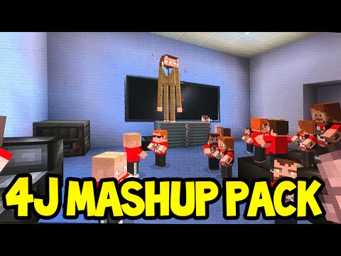 Minecraft (Xbox360/PS3) - 4JStudios MASH-UP PACK! - Demonstration