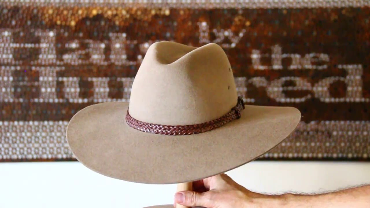Akubra Riverina Bran Hat- Hats By The Hundred Review - YouTube 5b727684245