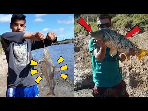 Pesca En Canal 15 Río Salado 2019