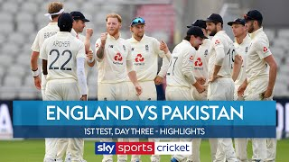 England fight back strongly to leave the game evenly balanced | England vs Pakistan Highlights