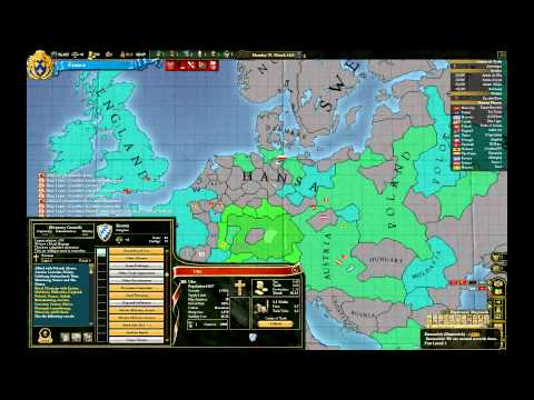 Let's Play Europa Universalis III Divine Wind France Episode I: Landgrab and consolidation (9)