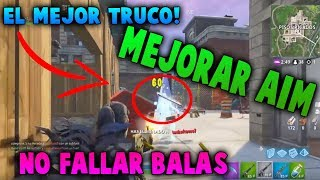 🔥HOW NOT TO FAIL BALAS THE BEST FORTNITE TRICK IMPROVE AIM WITH RIFLE SEASON 6🔥
