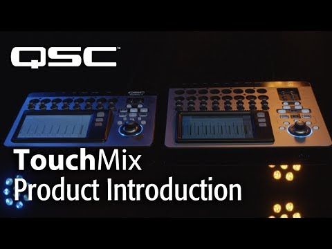 touchmix 16 touch screen digital mixer by qsc ln75835 qsctm16 scan uk. Black Bedroom Furniture Sets. Home Design Ideas