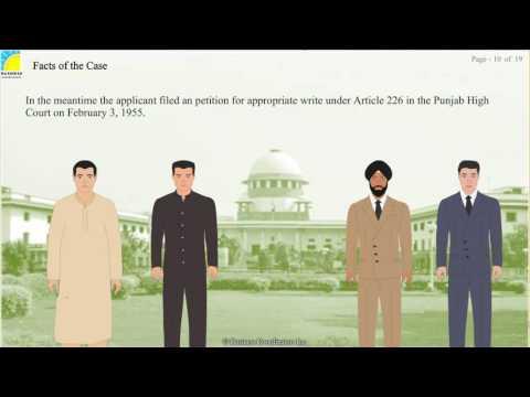 Constitution 2 - Purushotam lal Dhingra Vs Union of India