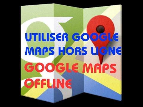 telecharger carte google maps gps, Utiliser google maps sans connexion 3g 4g