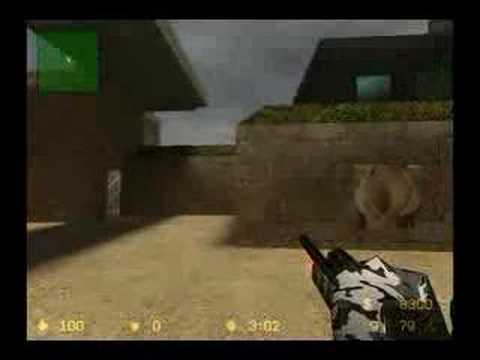 Counterstrike Source - C3A1 Scout With Laser SKIN
