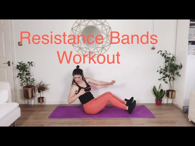 Resistance Bands Workout you can do at home