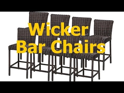 Wicker Outdoor Bar Chairs (High Quality)