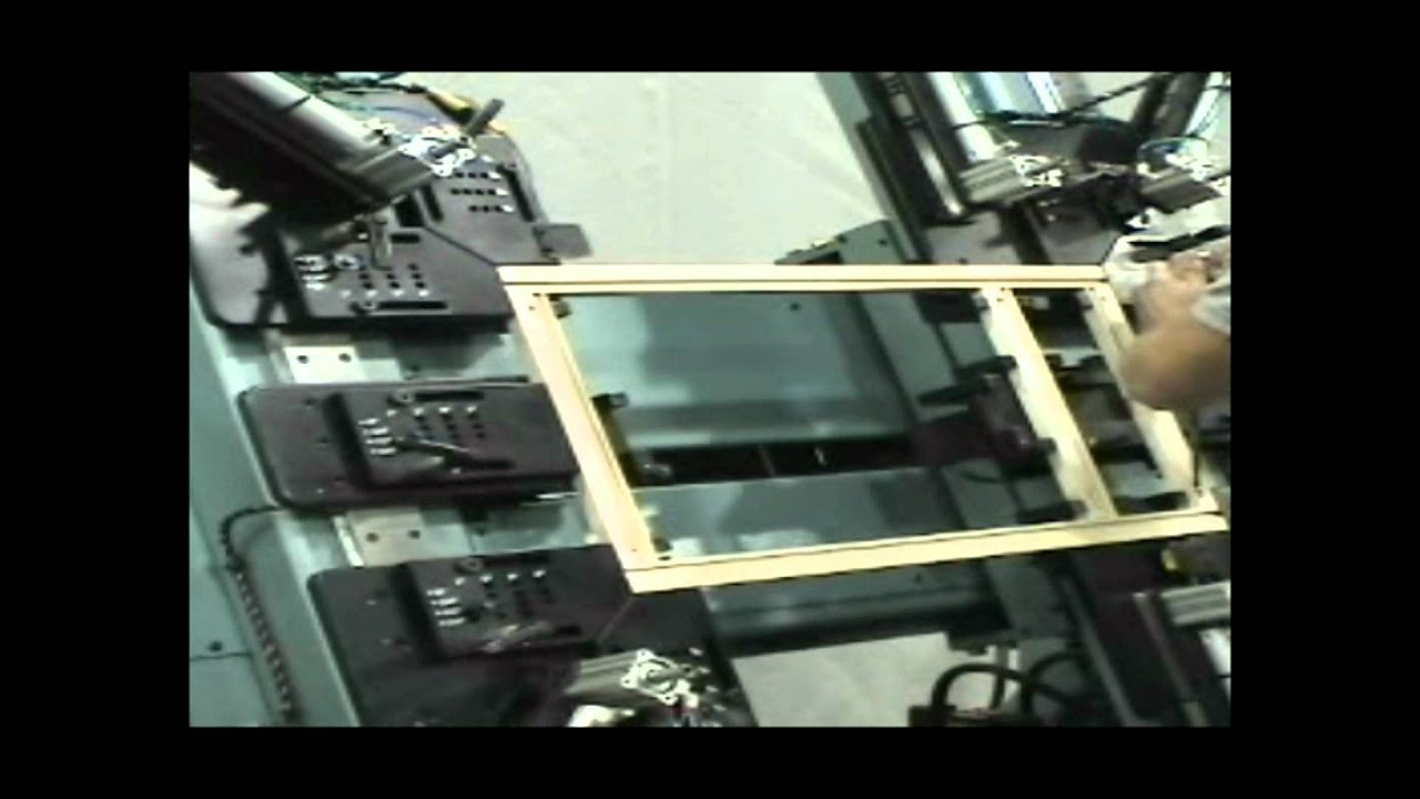CSE ProMax Face Frame Assembly Machine - YouTube