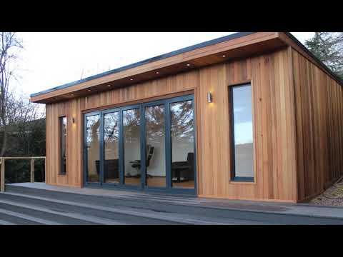 Contemporary Garden Offices at Home UK