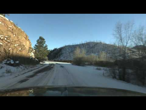 Deckers to Woodland Park 1/6/2017