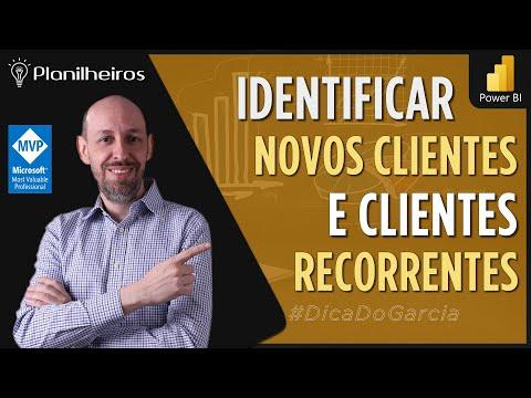 Power BI (desktop) - Medidas Rápidas X Medidas - Novos Clientes X Clientes Existentes