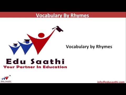 English Usage: Learning Vocabulary through Rhymes | www.edus