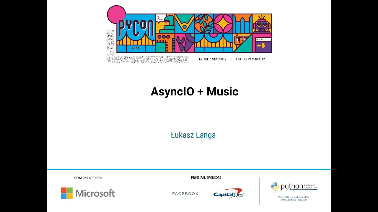 Image from AsyncIO + Music