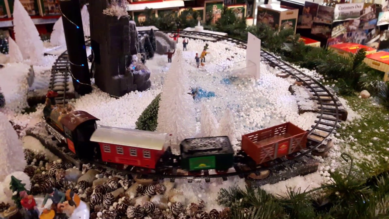 Model Train At Summerhill Garden Centre December 2016 Youtube