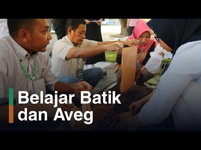 Pelatihan Analisis Vegetasi dan Batik Mangrove