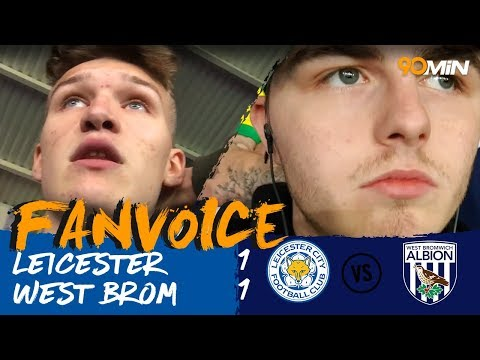Mahrez goal saves Leicester against West Brom! | Leicester City 1-1 West Bromwich | 90min FanVoice