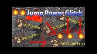 JUMP FORCE AND MOVEMENT SPEED GLITCH!!!| Roblox Super Power Training Simulator