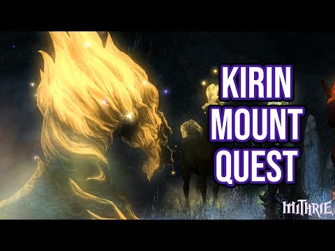 Ffxiv 356 1034 Kirin Mount Quest Youtube