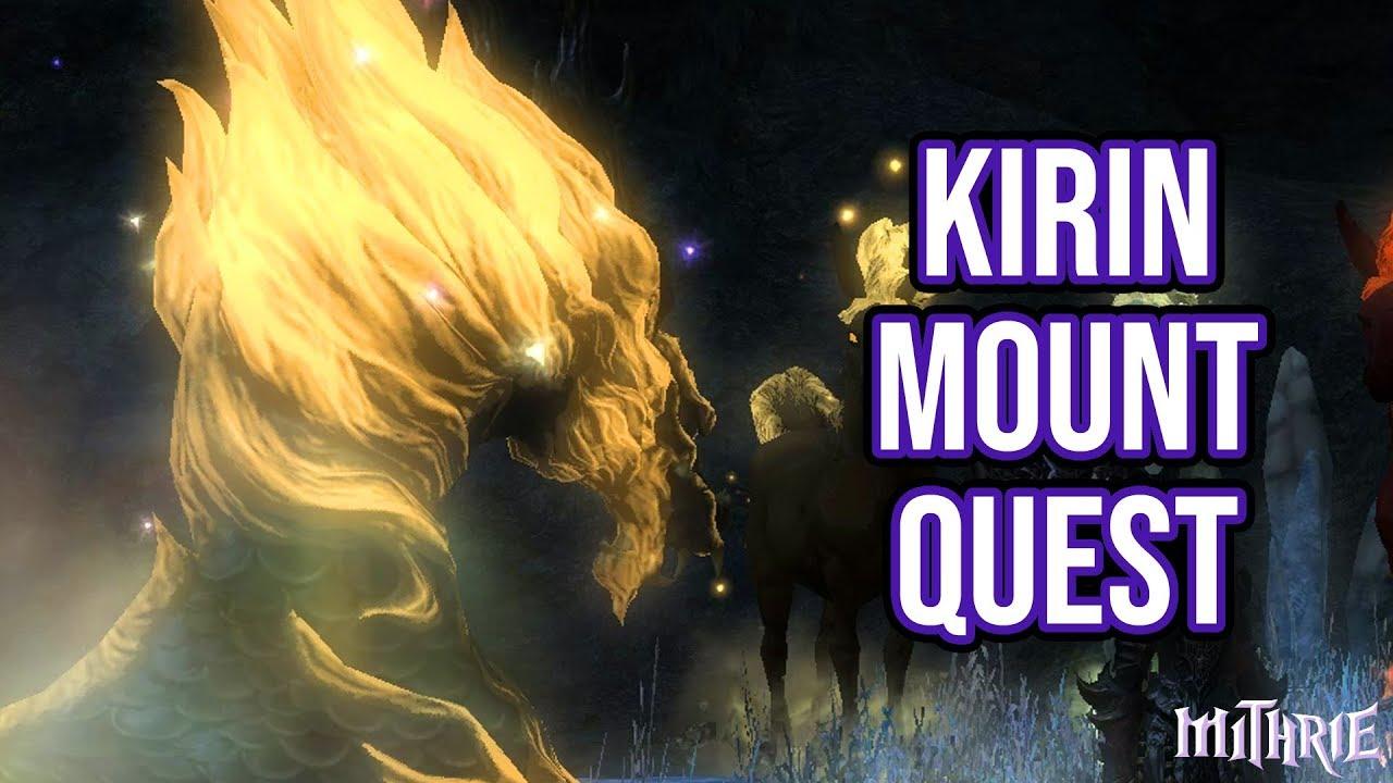FFXIV 3 56 1034 Kirin Mount Quest - Самые лучшие видео