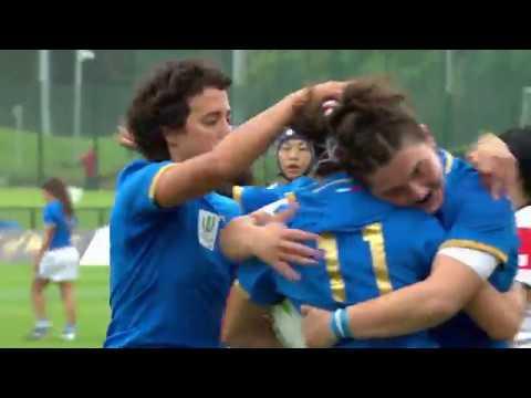 WRWC HIGHLIGHTS: Italy v Japan