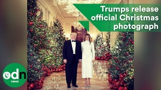 Melania Trump releases official Christmas photograph