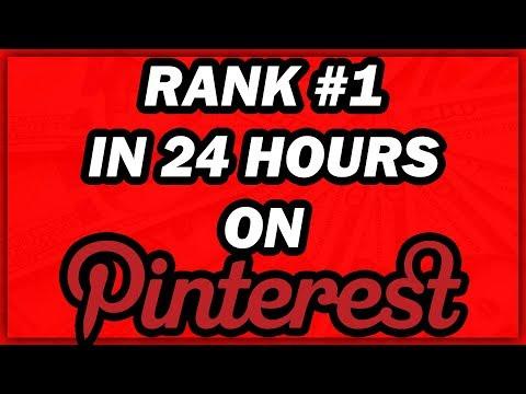Pinterest SEO - How To Rank #1 In 24 Hours (TRAFFIC SECRETS!)