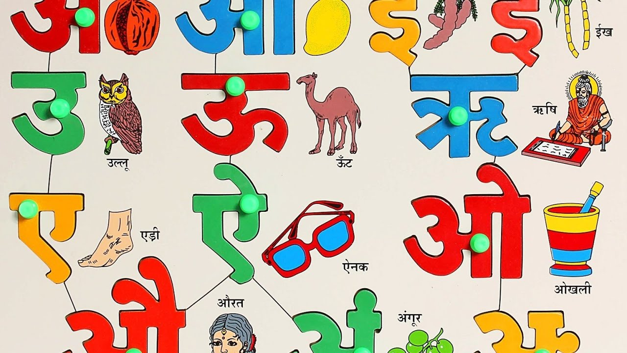 Download Learn 36 Hindi Varnamala letters with pictures ...