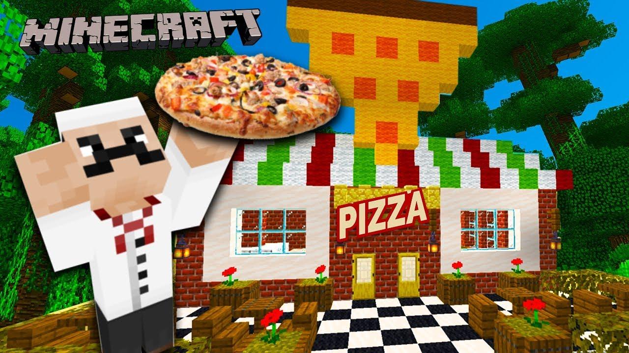 пиццирия в майнкрафте #8