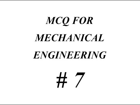 MECHANICAL  QUESTIONS ANSWERS  RTO ARTO GATE GPSC SSC JE IES ESE IFS EXAM