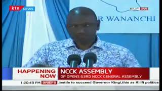 DP  Ruto opens 63rd NCCK assembly in Kilifi county