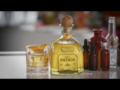 Search Party x Patrón Present: Patrón Añejo Old Fashioned