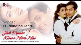 Song - o jaana na movie jab pyaar kisise hota hai(1998) directer deepak sareen producer kumar s. taurani, ramesh taurani writer honey irani ...