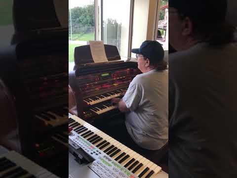 Ed Alstrom, The New York Yankees Organist Plays The New Jersey Jackals Organ At Yogi Berra Stadium