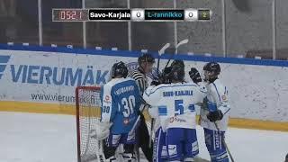 Maalikooste: Savo-Karjala – Länsirannikko 2–1