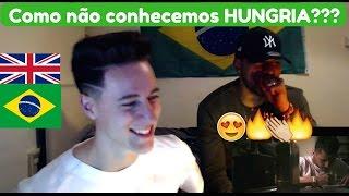 BRITÂNICOS REAGEM AO Lembranças - Hungria Hip Hop (Official Vídeo)!!! Reaction