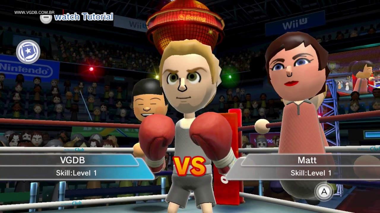 wii u boxing games