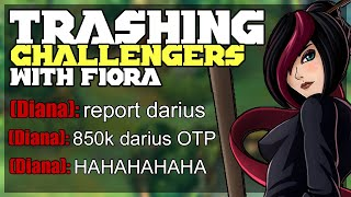 Destroying a Challenger Darius OTP with my Fiora | League of Legends