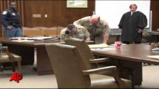 Raw Video: Ga. Courtroom Attack Caught on Tape