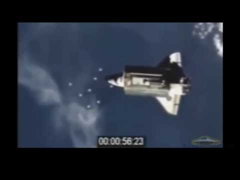 Secret NASA shooting fleet light ships / Секретные съемки НАСА флотилия кораблей света