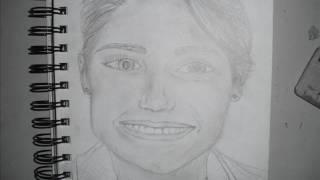 Annasophia Robb Drawing