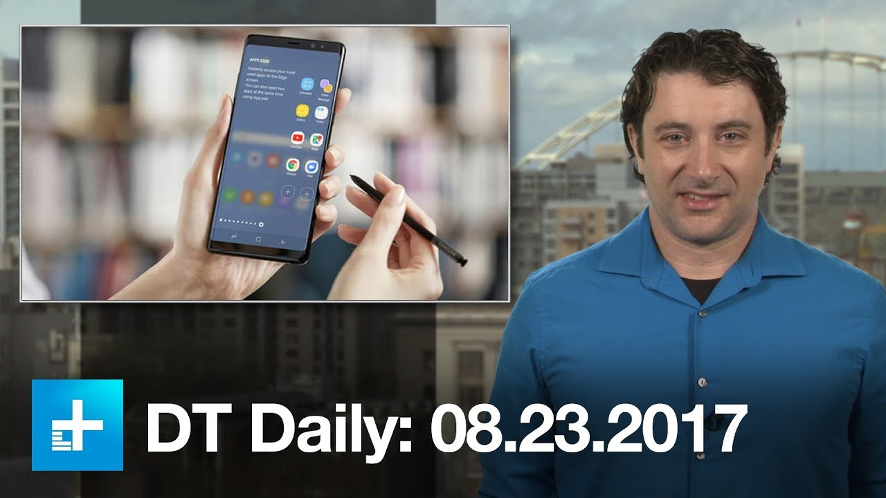 Samsung's Galaxy Note 8: Pretty close to the Note 7, but with less heat