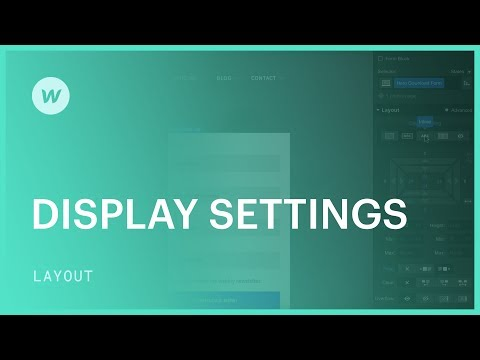 Display settings (block, inline-block, inline, and flex) - Web design tutorial