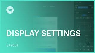 Display settings (block, inline-block, inline, and flex) - Web design tutorial (using the Old UI)