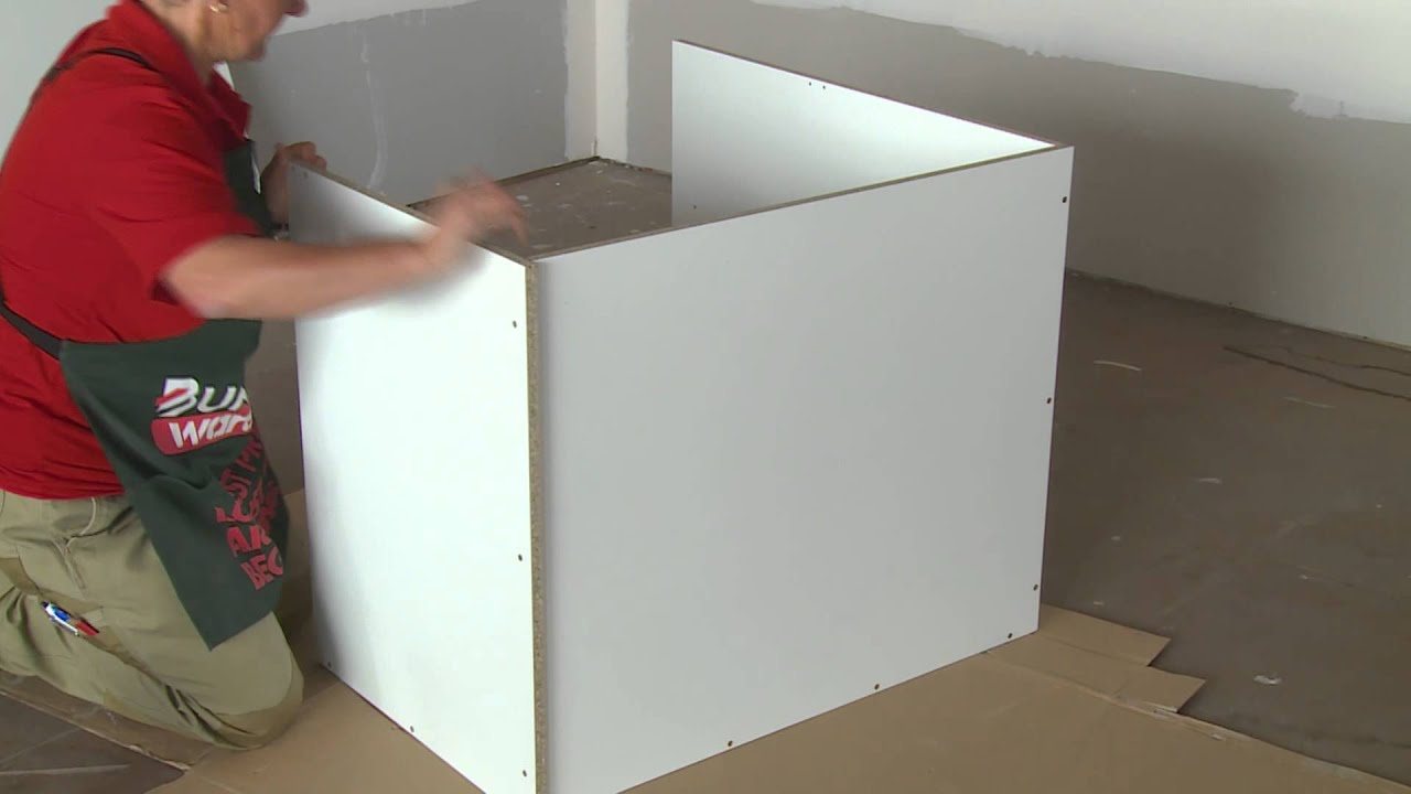 how to build a corner cabinet diy at bunnings youtube. Black Bedroom Furniture Sets. Home Design Ideas