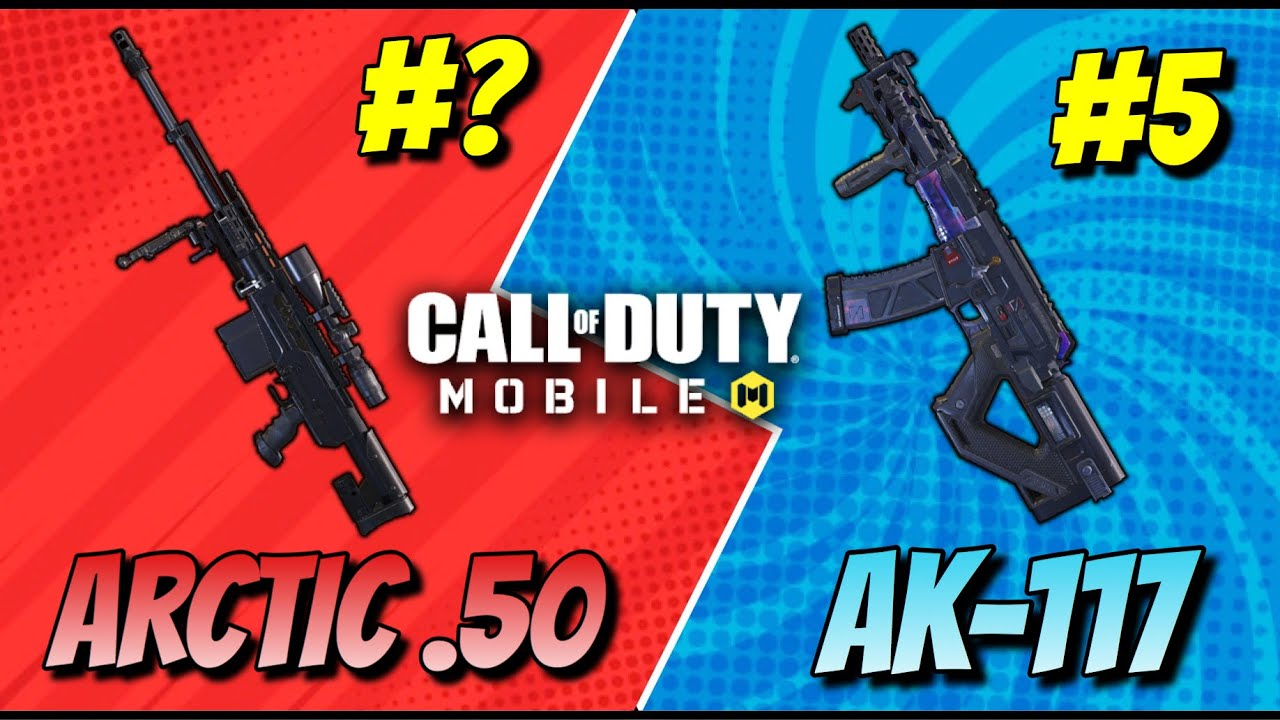 TOP 10 WEAPONS IN NEW SEASON 12 IN CALL OF DUTY MOBILE BATTLE ROYALE